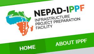 NEPAD – IPPF : Rebrand & Web design