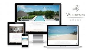 Windward Lodge – Guest House – Logo design, Branding identity, Web design & build